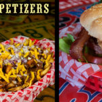 jiffy burger and appetizers